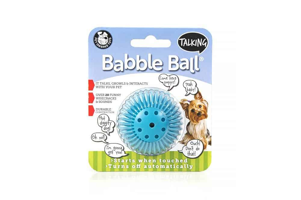 Pet Qwerks babble ball voor de hond en kat